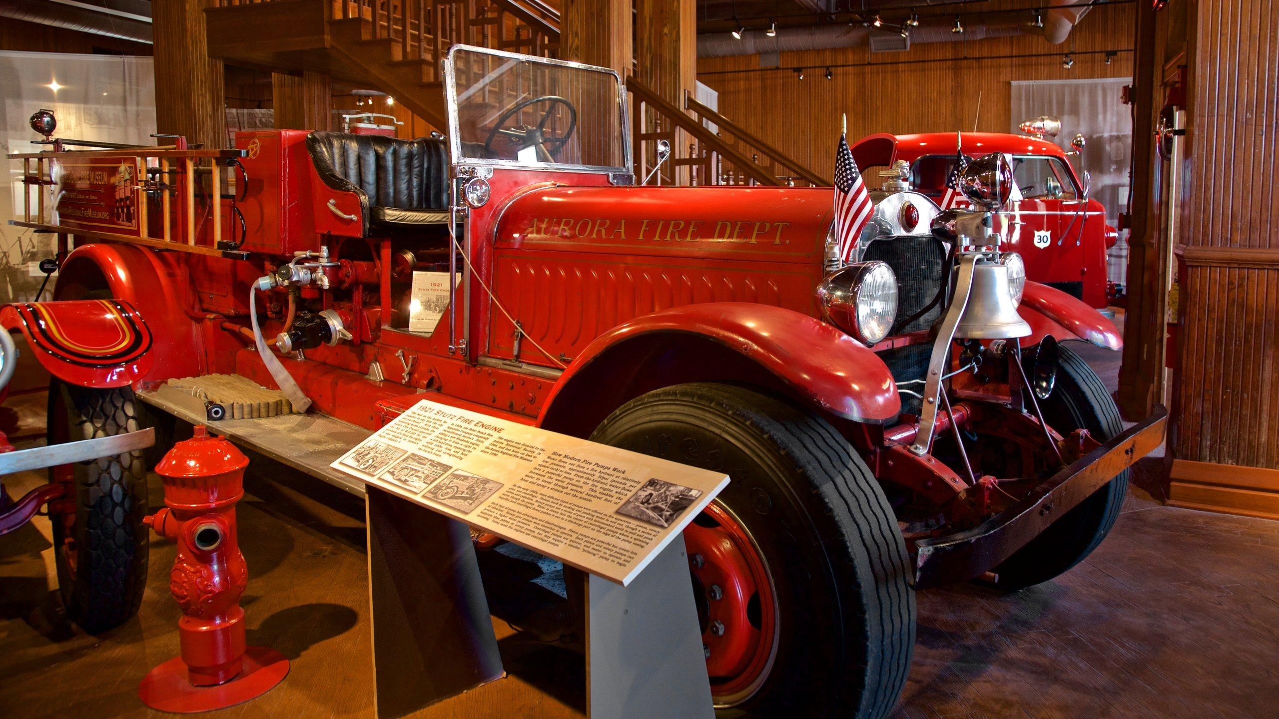 Aurora Regional Fire Museum, Aurora, Illinois, Verenigde Staten