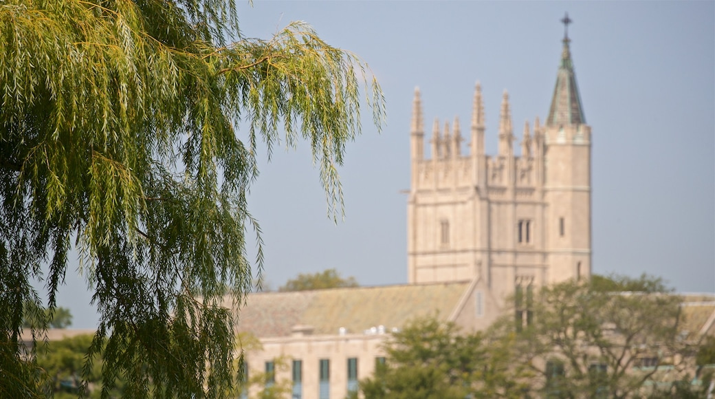 Northwestern University which includes heritage architecture