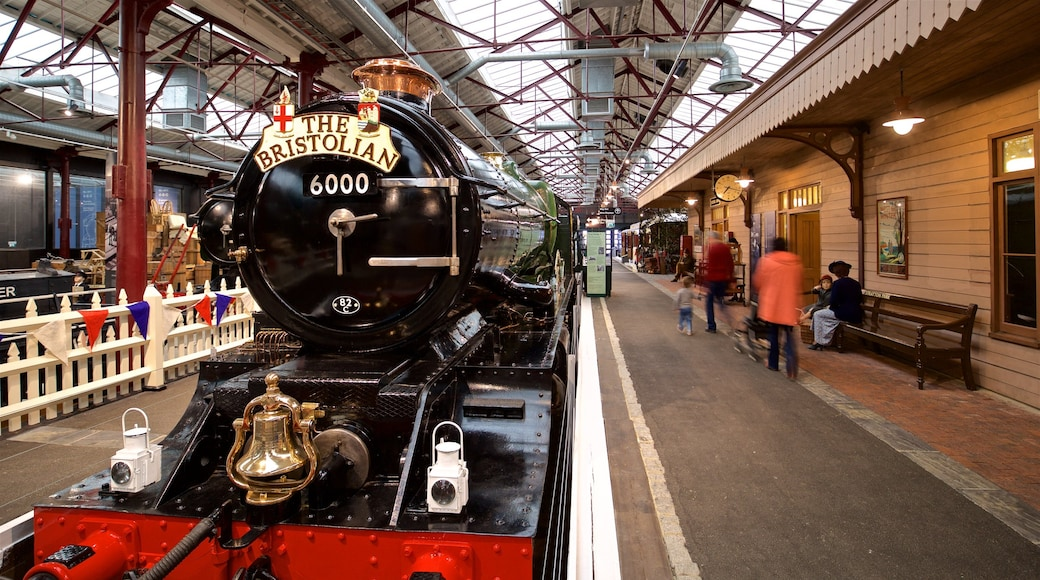 Museum of the Great Western Railway which includes railway items and heritage elements