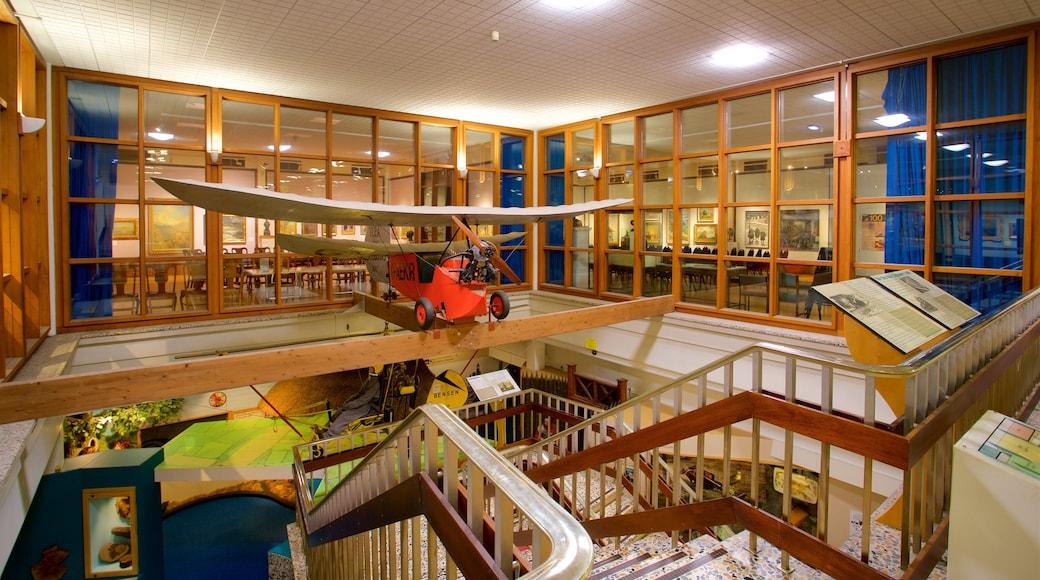 Doncaster Museum and Art Gallery das einen Innenansichten