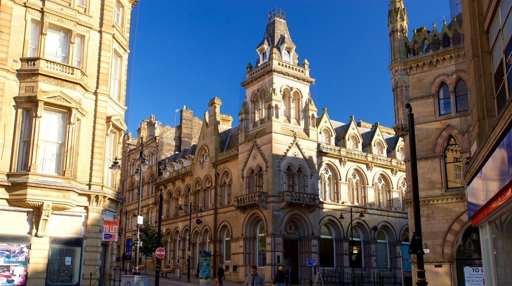Bradford que incluye patrimonio de arquitectura