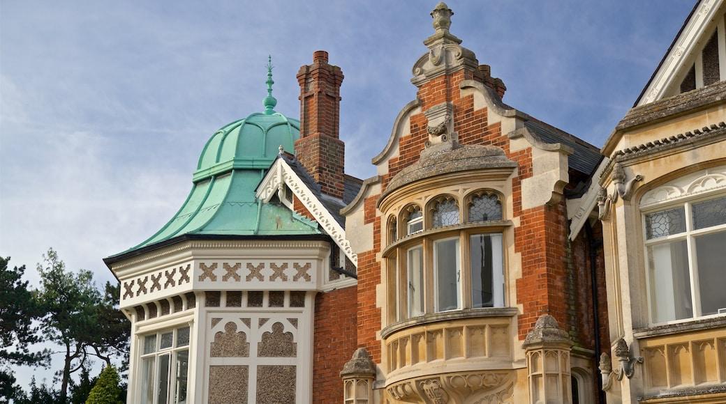 Bletchley Park das einen Haus und Geschichtliches
