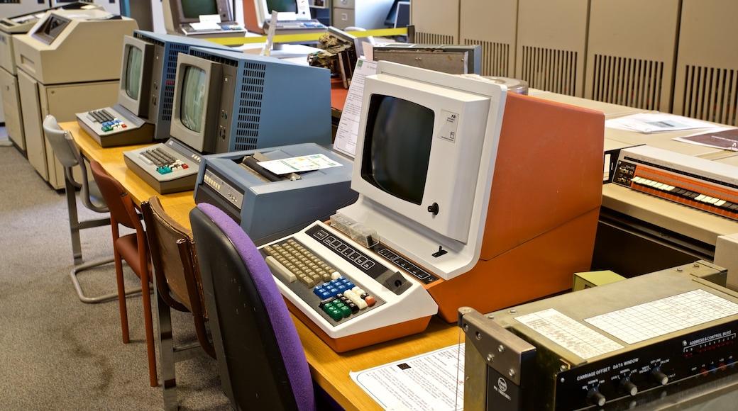 The National Museum of Computing welches beinhaltet Innenansichten und Geschichtliches
