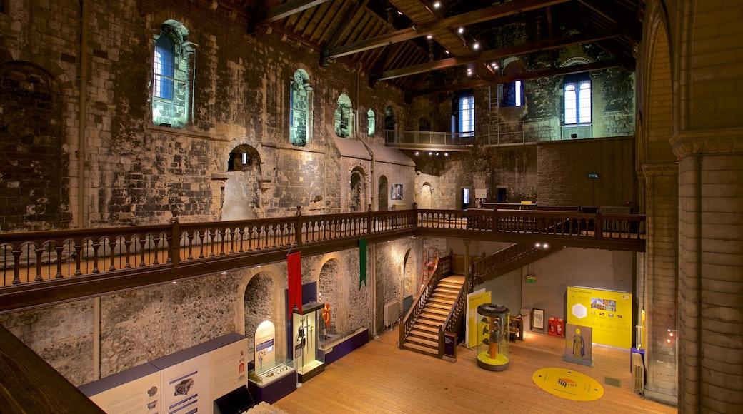 Norwich Castle featuring interior views