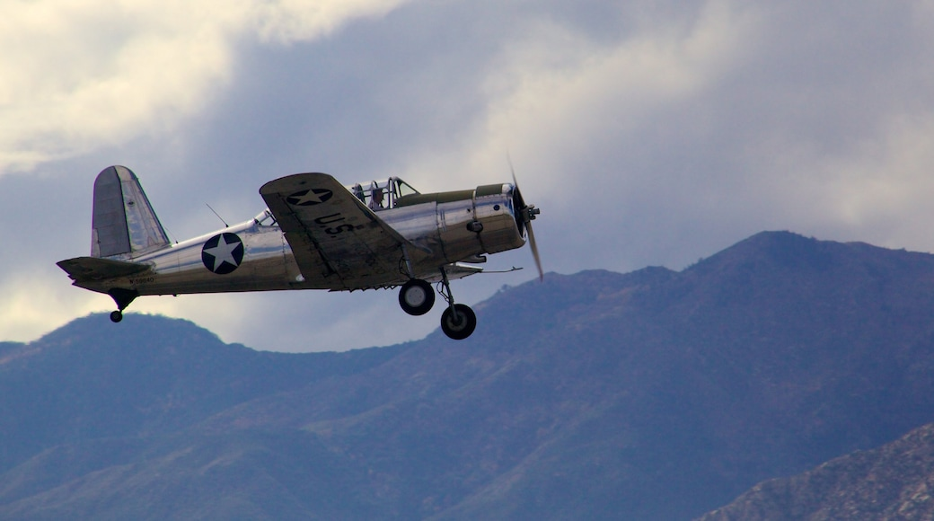Palm Springs Air Museum featuring an aircraft and aircraft