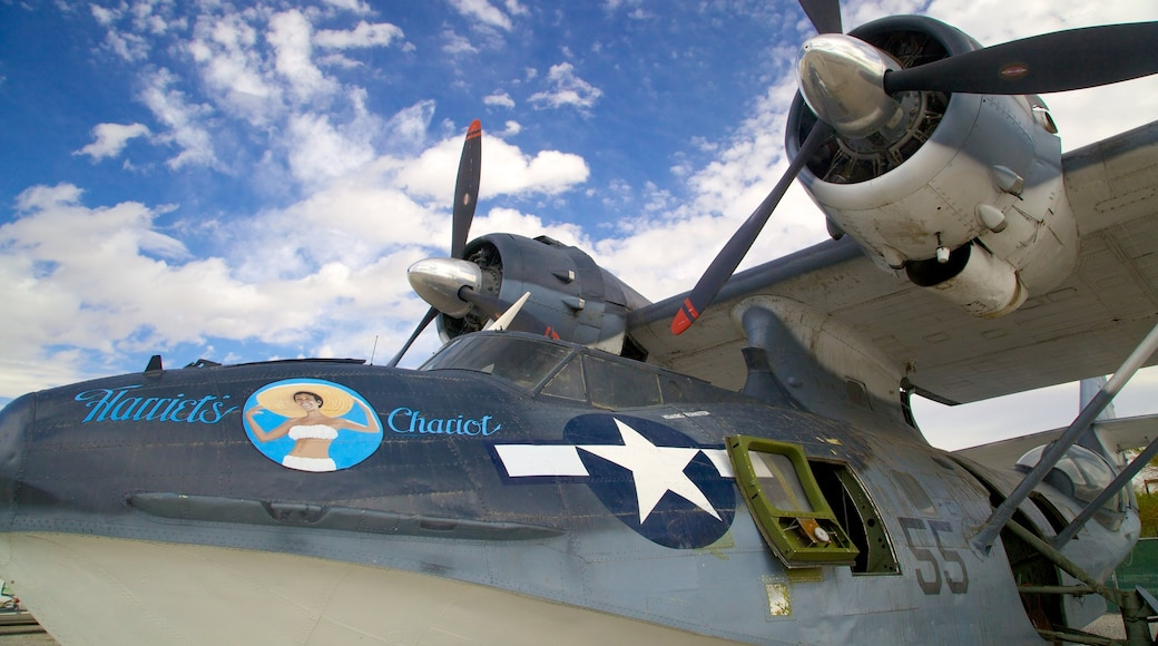 Palm Springs Air Museum showing aircraft