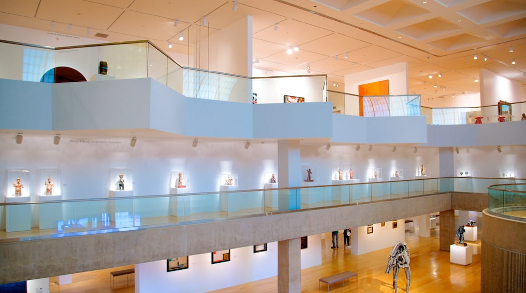 Palm Springs Art Museum showing interior views