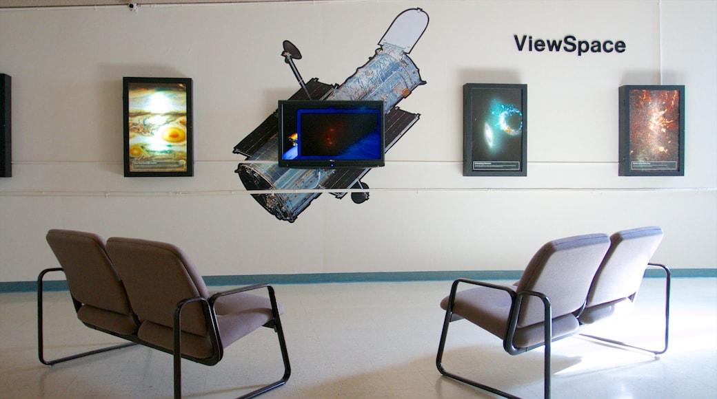 Fleischmann Planetarium and Science Center featuring interior views