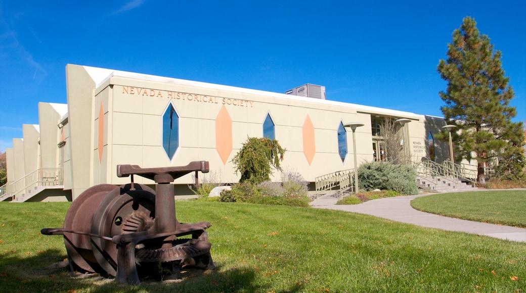 Nevada Historical Society featuring a park