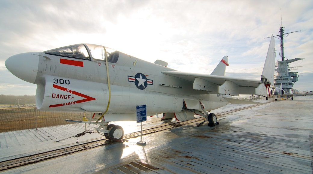 USS Yorktown which includes aircraft