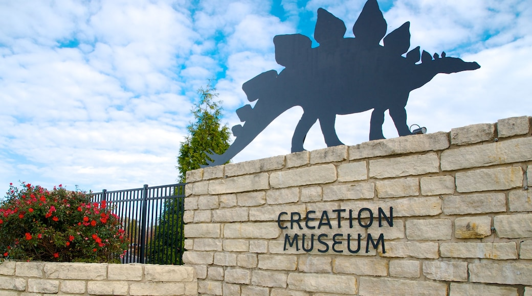 Creation Museum featuring signage