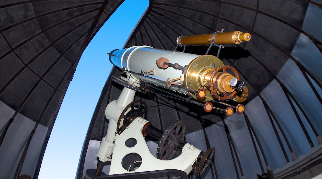 신시내티 관측센터 을 특징 천문대 과 실내 전경