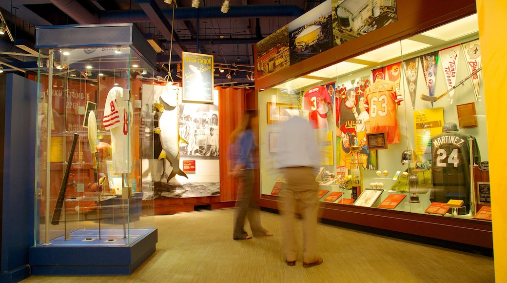 Tampa Bay History Center which includes interior views