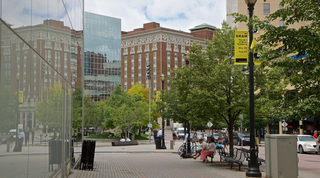 Grand Rapids showing a city