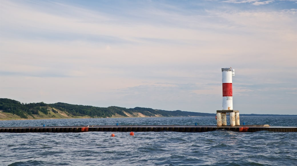 Holland featuring a lighthouse and general coastal views