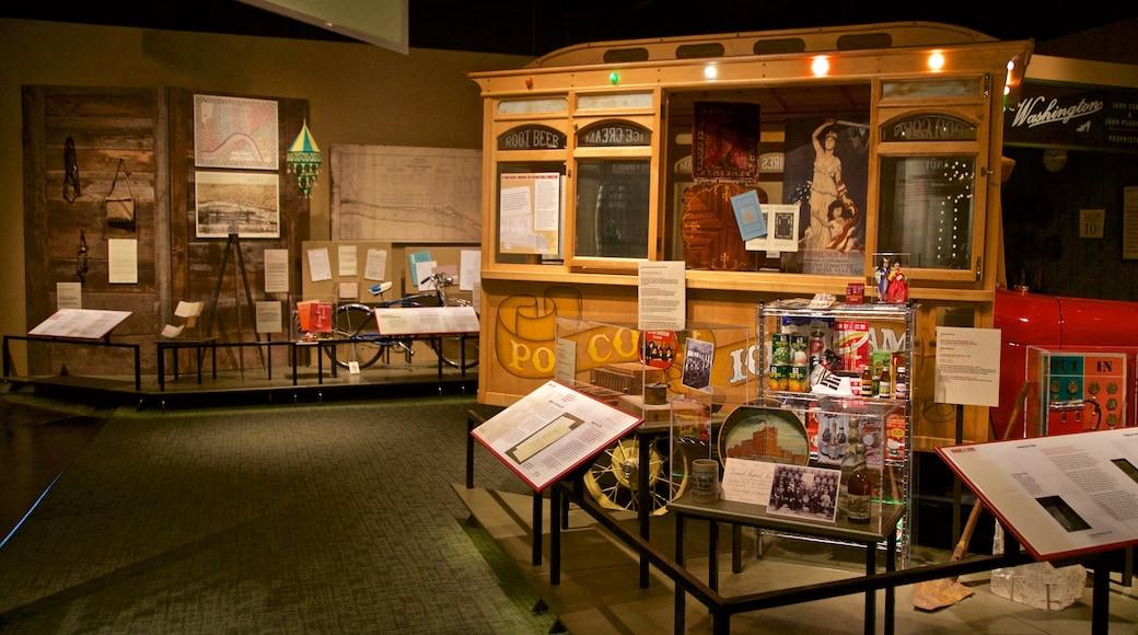 Van Andel Museum Center featuring interior views