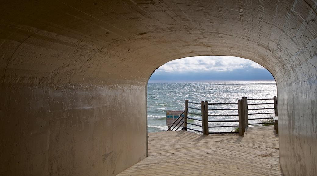 Tunnel Park showing general coastal views