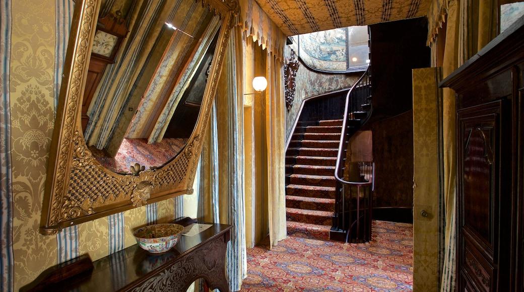 Hauteville House que inclui uma casa, vistas internas e elementos de patrimônio