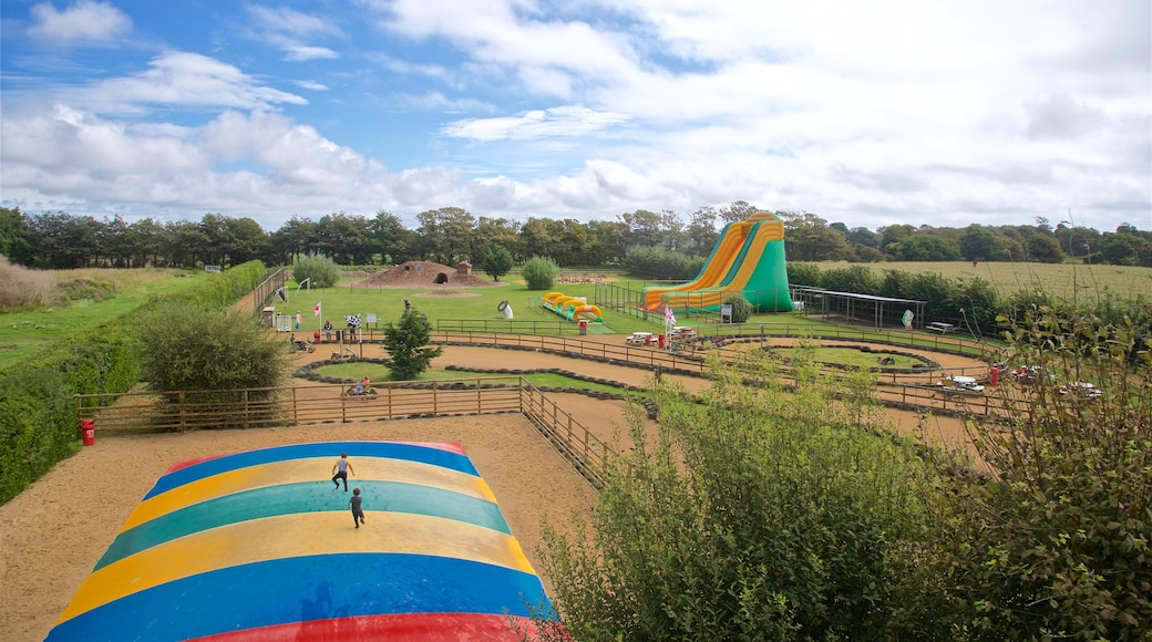 aMazin! Adventure Park & Maze das einen Farmland und Spielplatz