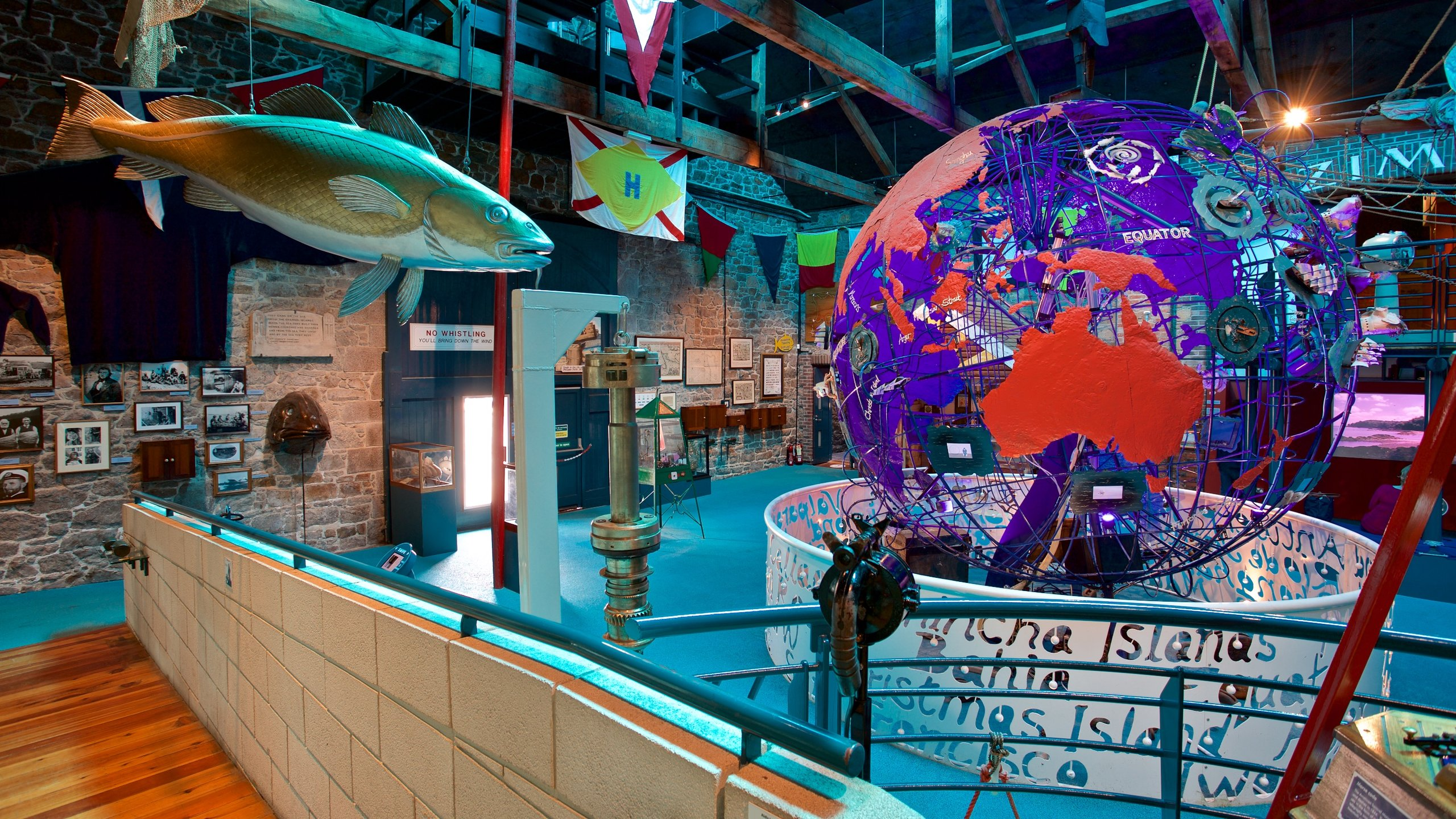 Based in granite warehouses overlooking St. Helier Marina, this museum brings legends and stories of the sea to life with colorful and fun exhibits.