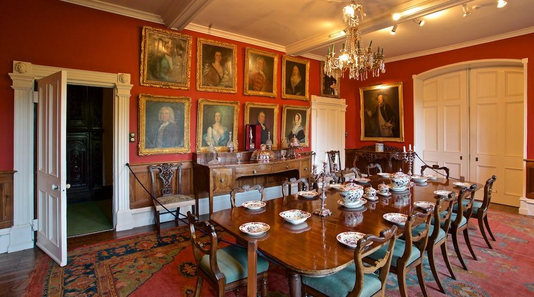 Sausmarez Manor que inclui uma casa, arte e elementos de patrimônio