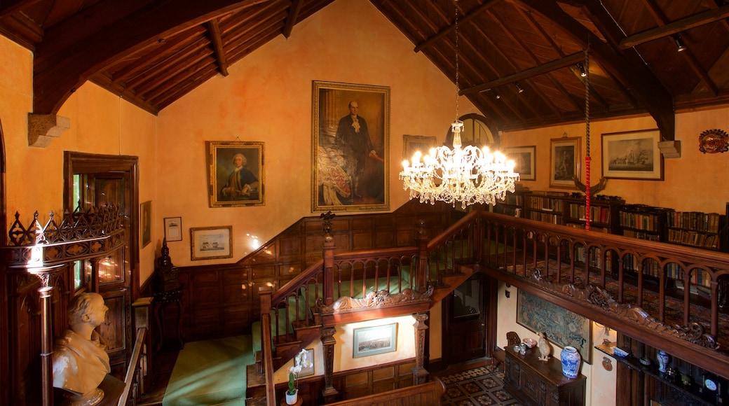 Sausmarez Manor que inclui uma casa, elementos de patrimônio e vistas internas