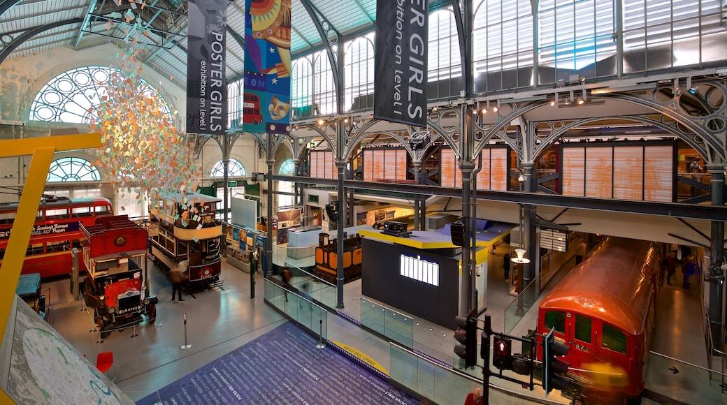 倫敦交通博物館 设有 內部景觀