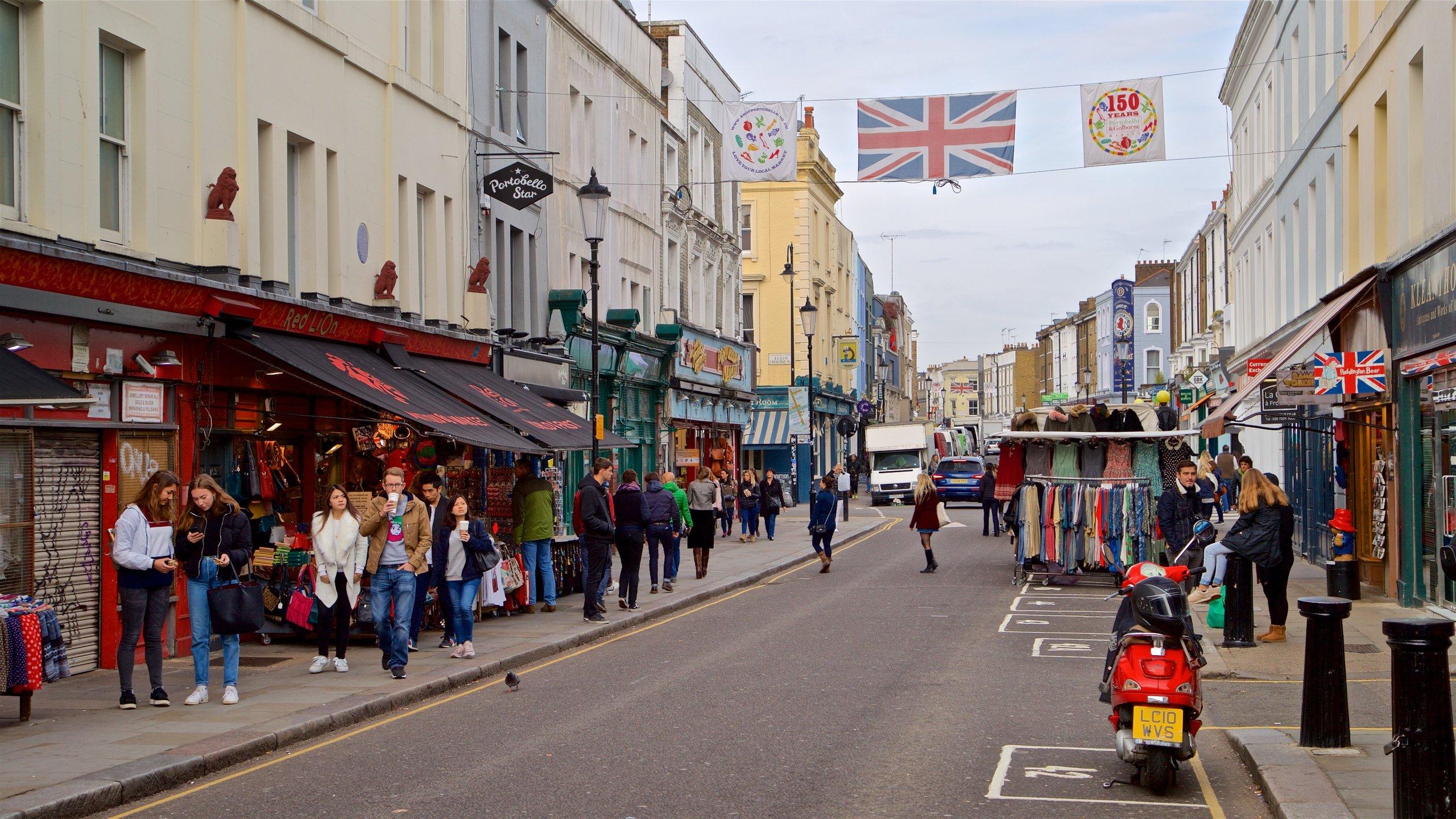 Portobello Road Market, London, England, United Kingdom