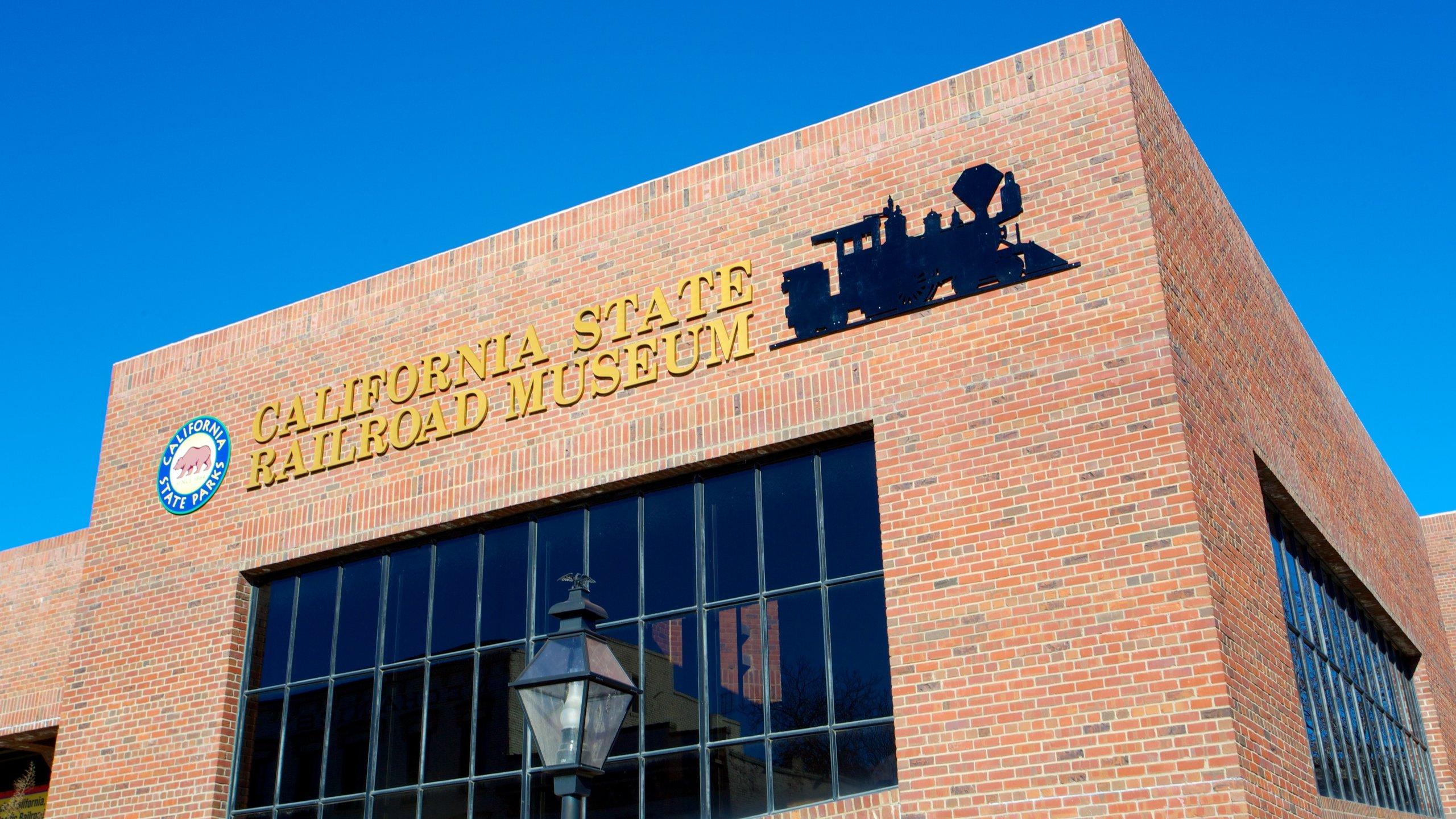 California State Railroad Museum, Sacramento, Californië, Verenigde Staten