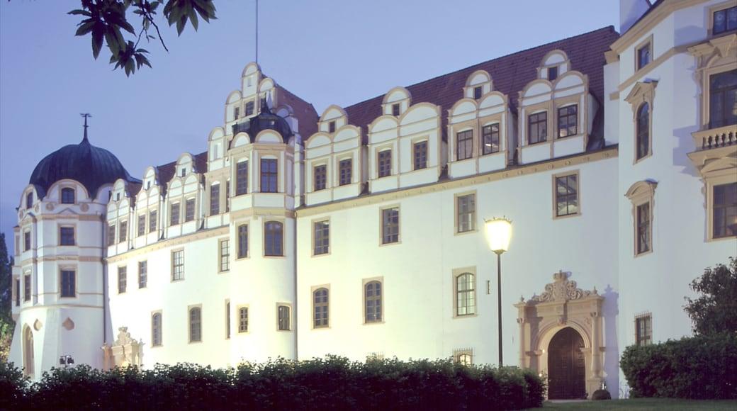 Celle bevat kasteel of paleis en historische architectuur