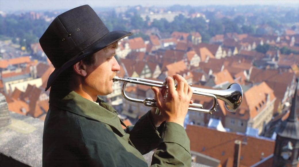 Celle bevat muziek, een stad en historische architectuur