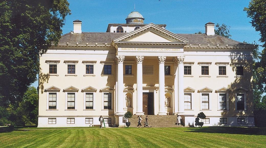 Dessau mit einem historische Architektur