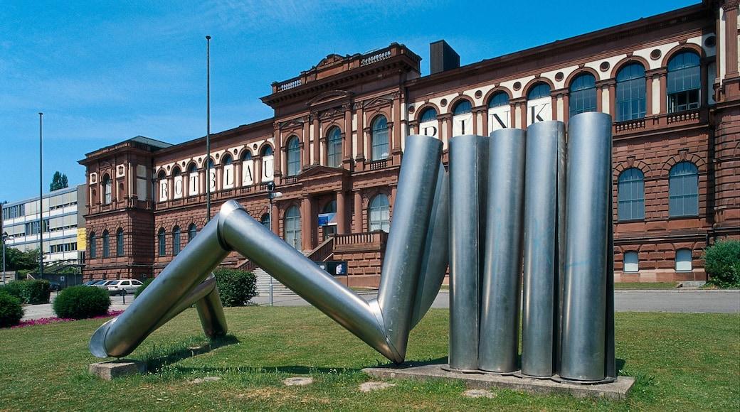 Kaiserslautern das einen Kunst, Stadt und Park