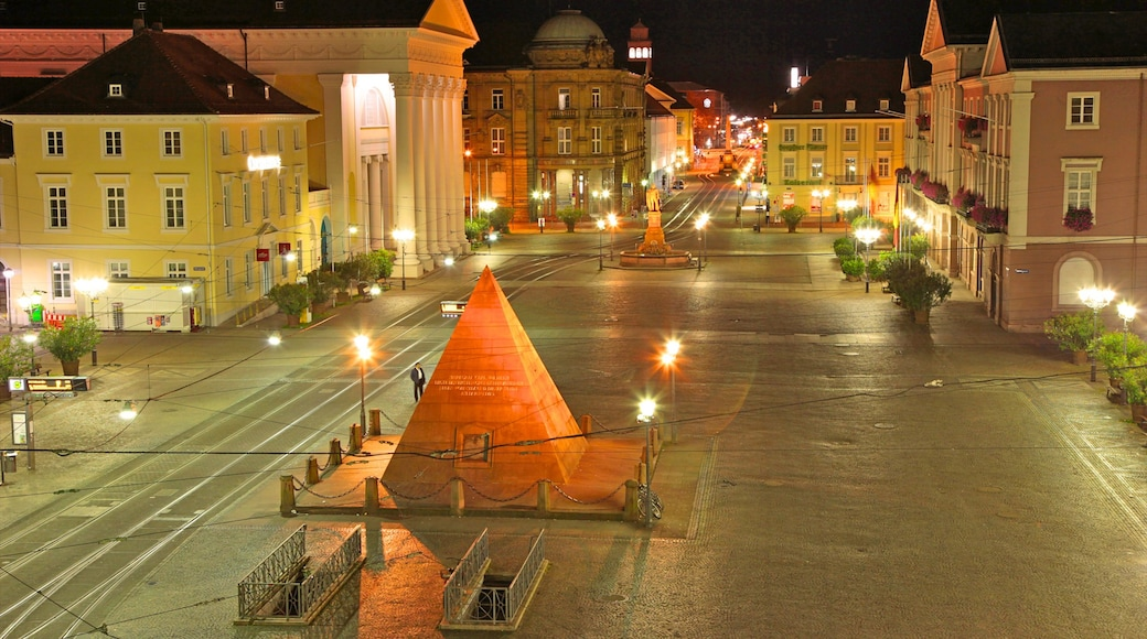 카를스루에 을 보여주는 야외 예술, 광장 과 거리 풍경
