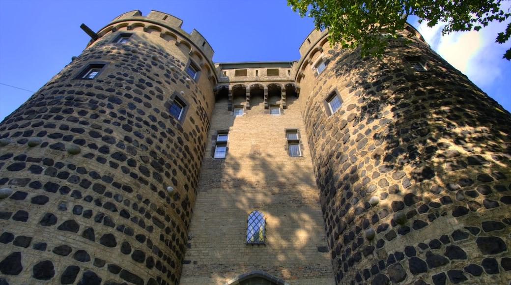 Neuss welches beinhaltet Palast oder Schloss und historische Architektur