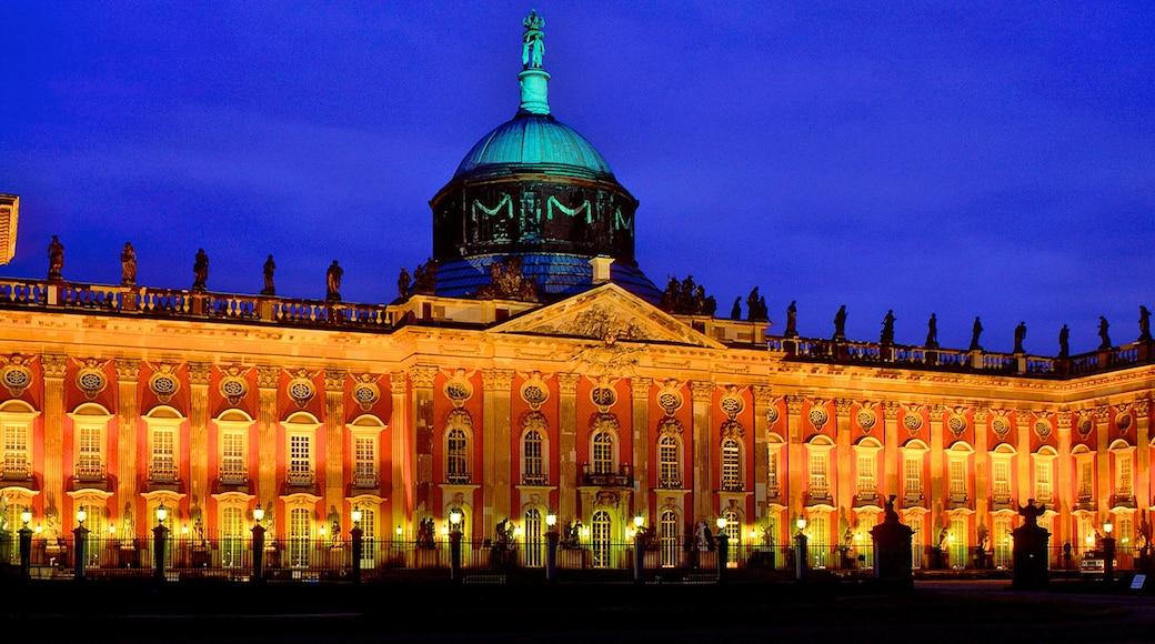 Potsdam ofreciendo una ciudad, escenas de noche y arquitectura patrimonial