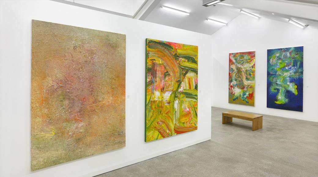 Potsdam ofreciendo arte y vista interna