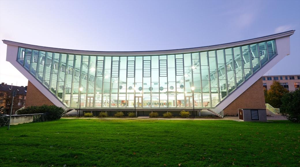 Wuppertal mostrando architettura moderna