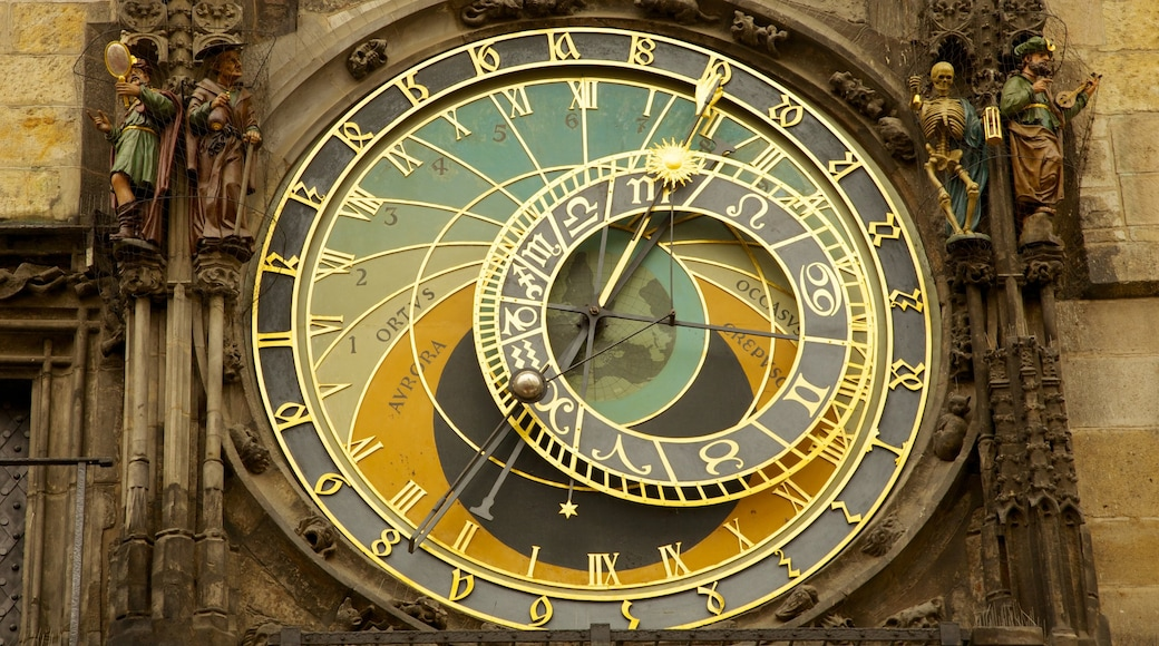 Astronomical Clock featuring heritage architecture