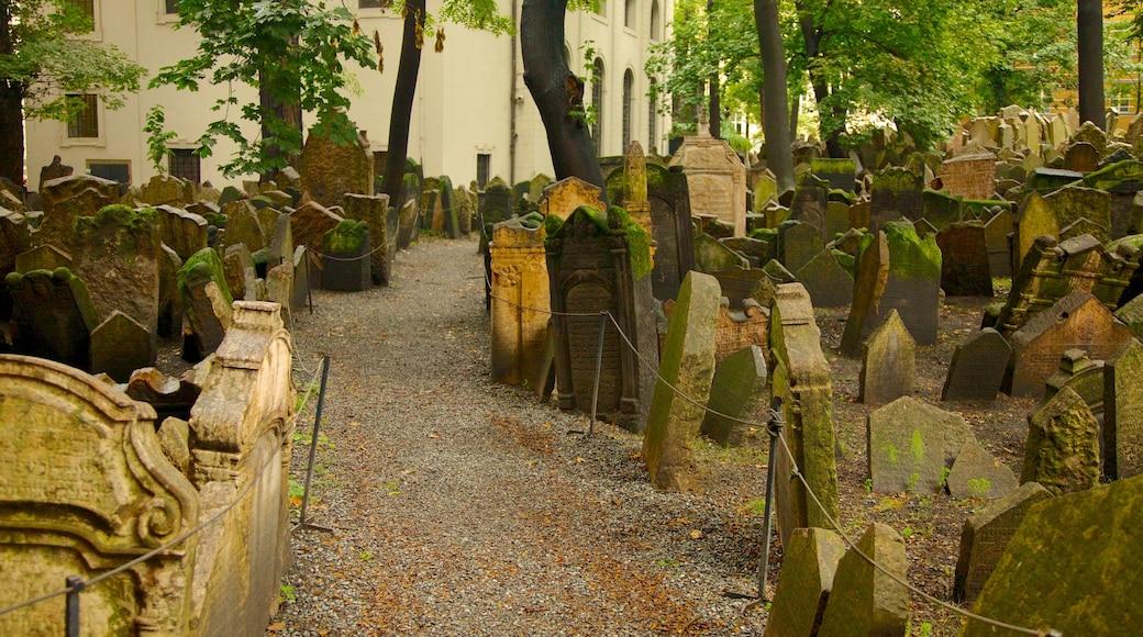Alter Jüdischer Friedhof mit einem religiöse Aspekte, Friedhof und Gedenkstätte