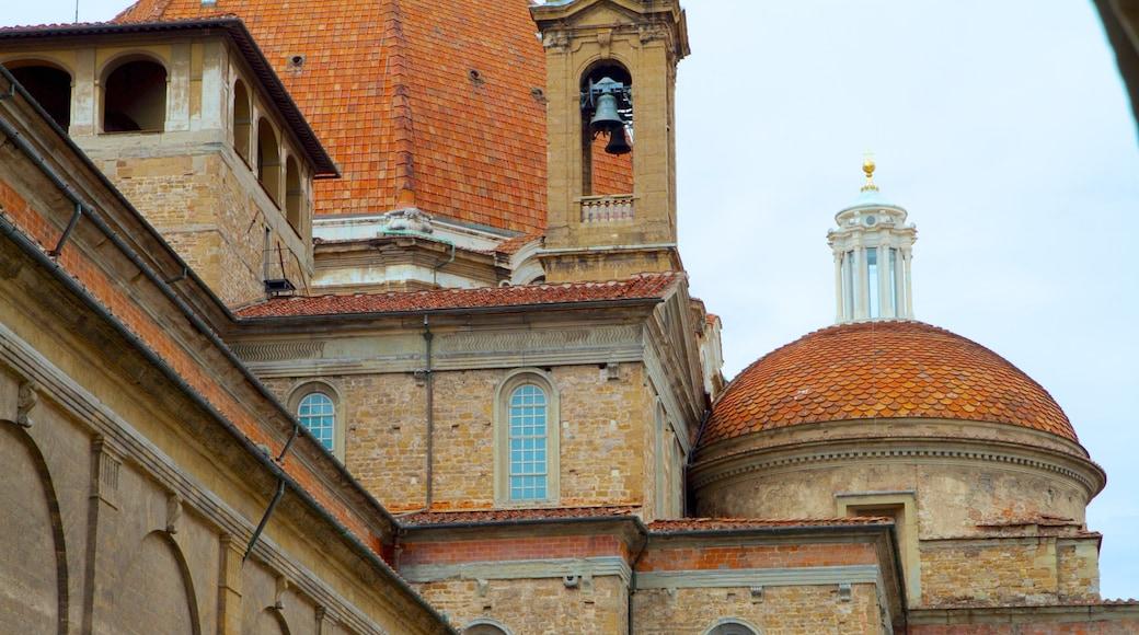 โบสถ์ซานลอเรนโซ เนื้อเรื่องที่ องค์ประกอบด้านศาสนา, โบสถ์หรือวิหาร และ มรดกทางสถาปัตยกรรม
