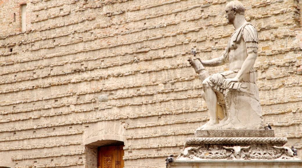 โบสถ์ซานลอเรนโซ เนื้อเรื่องที่ อนุสาวรีย์หรือรูปปั้น และ มรดกทางสถาปัตยกรรม