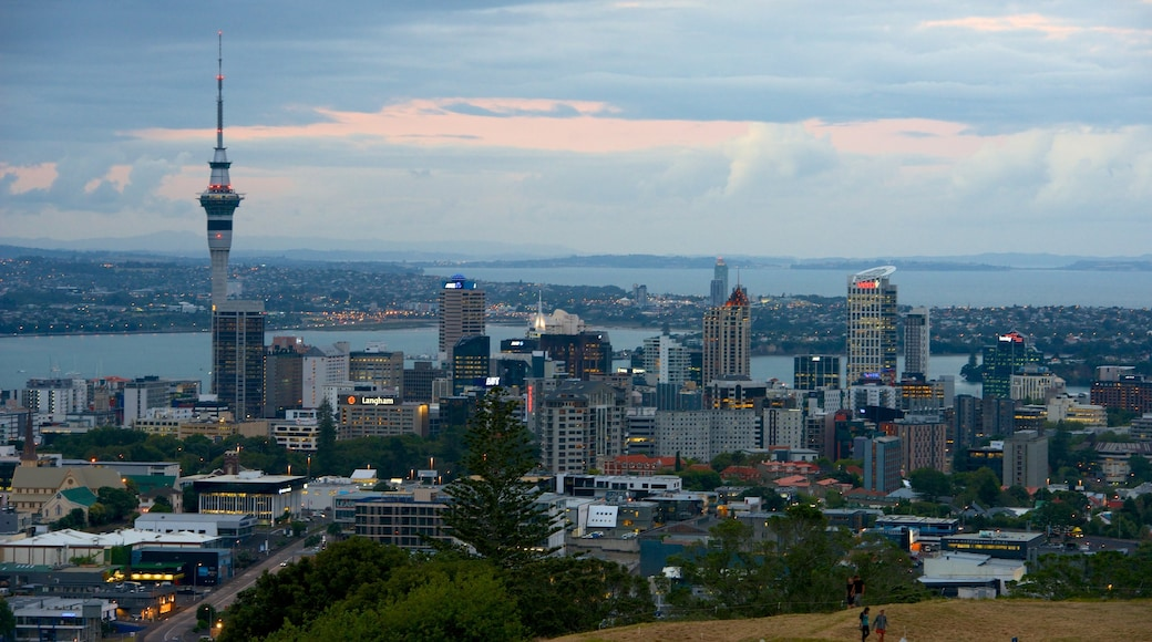 Mt. Eden which includes a high-rise building, city views and a city