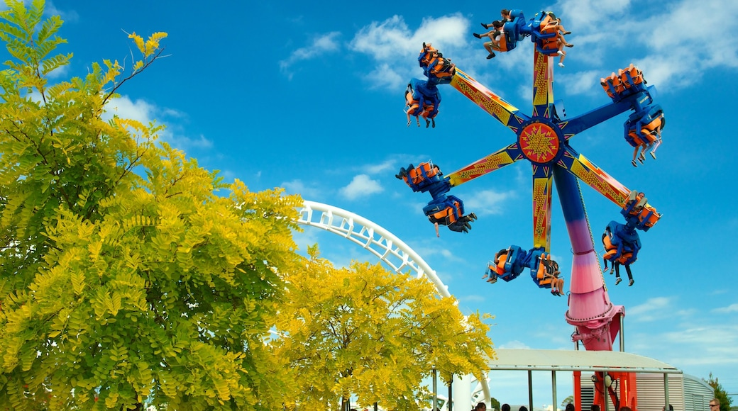 Rainbow\'s End featuring rides