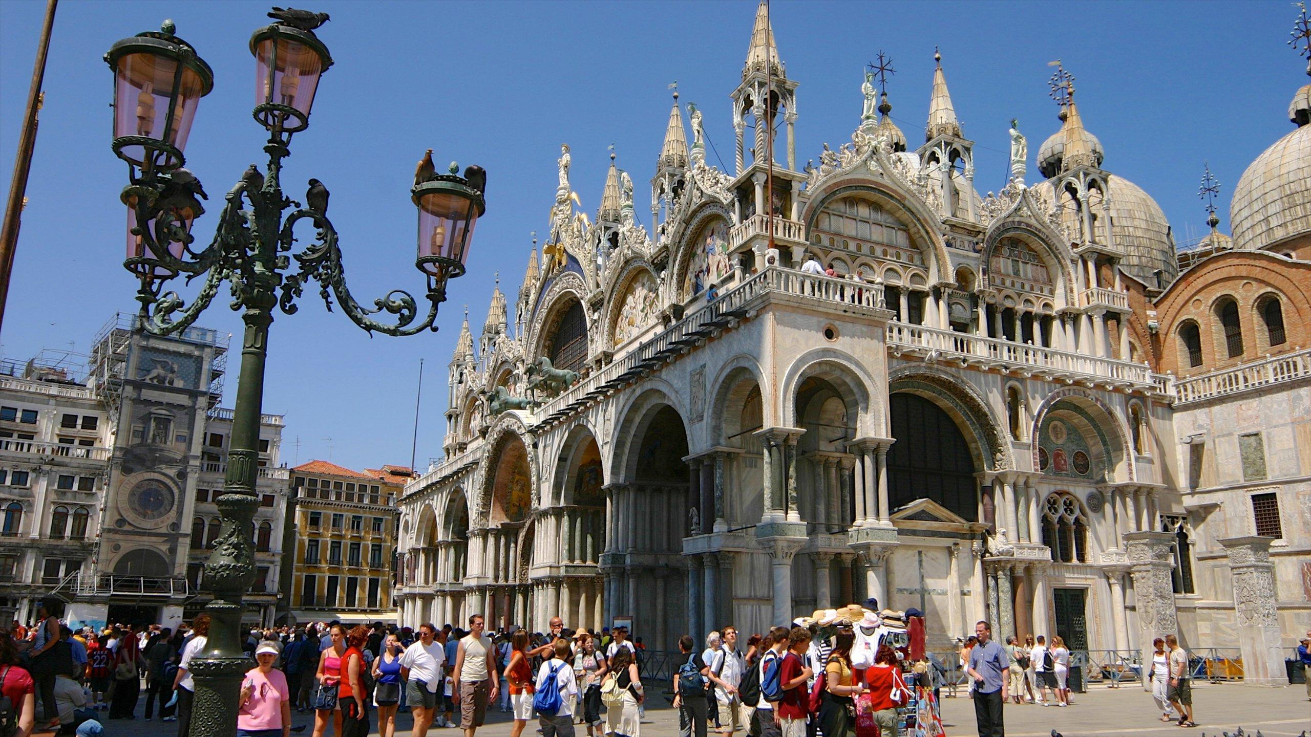 Markusplatz, Venedig, Veneto, Italien