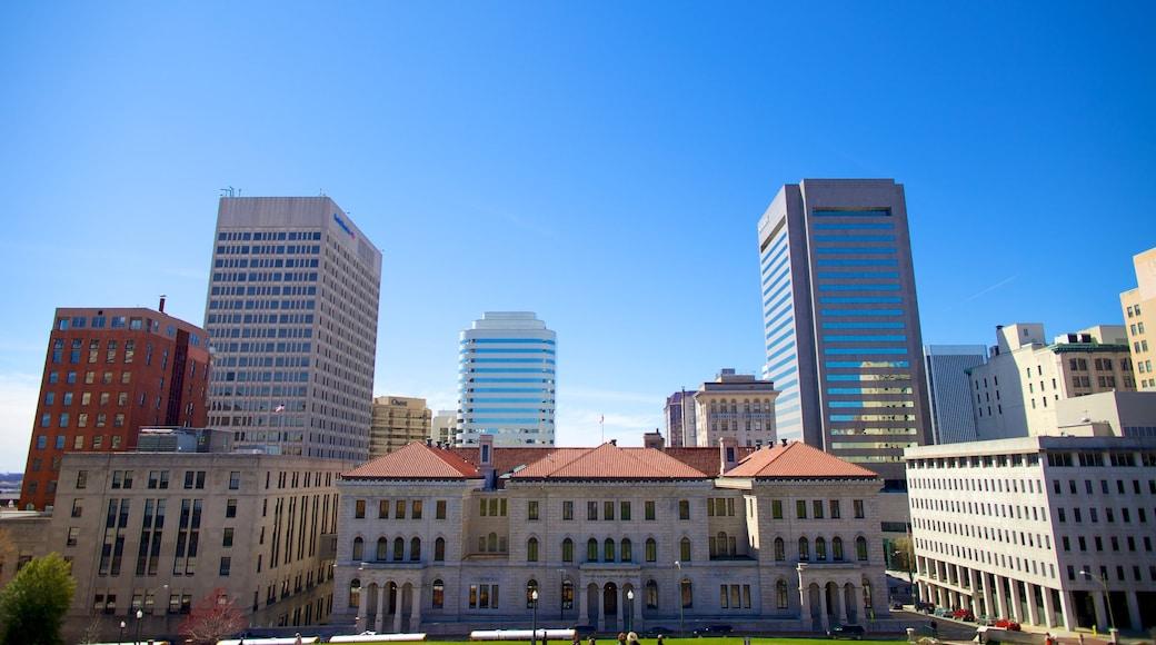 Virginia State Capitol das einen Stadt, Hochhaus und Stadtansicht