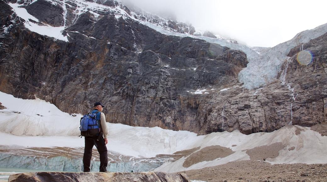 Mount Edith Cavell bevat landschappen, hiken of wandelen en bergen