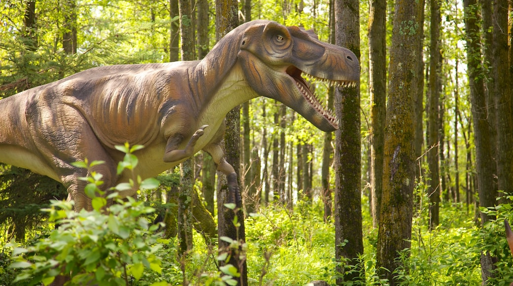 Jurassic Forest showing forest scenes