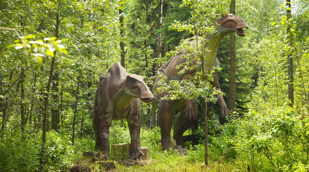 Jurassic Forest showing forests