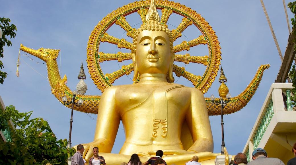 Grote Boeddha bevat religieuze aspecten